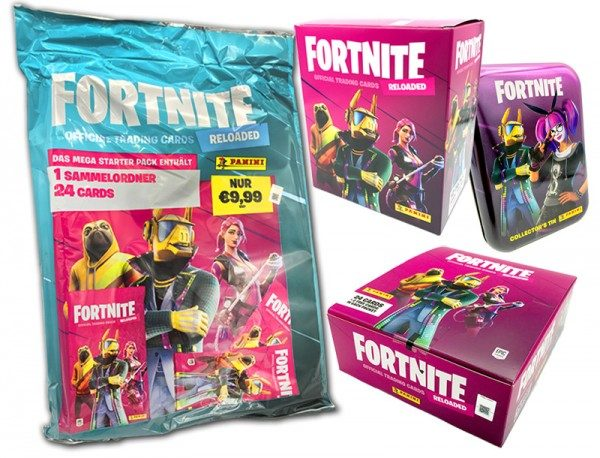 Fortnite Reloaded Trading Cards - Collector's Bundle