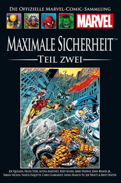 Hachette Marvel Collection 205 - Maximale Sicherheit, Teil II Cover