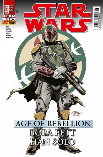 Star Wars 56: Age of Rebellion - Han Solo & Boba Fett - Kiosk-Ausgabe Cover