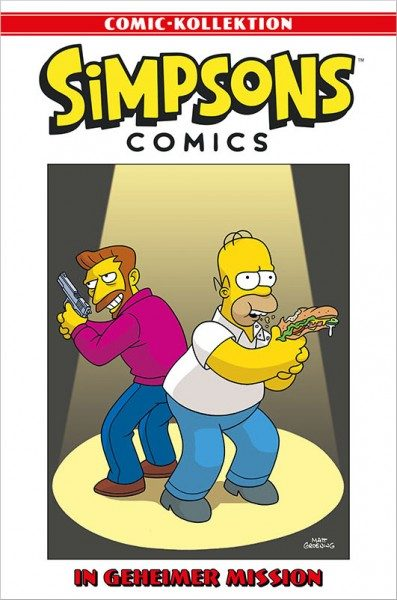 Simpsons Comic-Kollektion 58: In gemeiner Mission Cover
