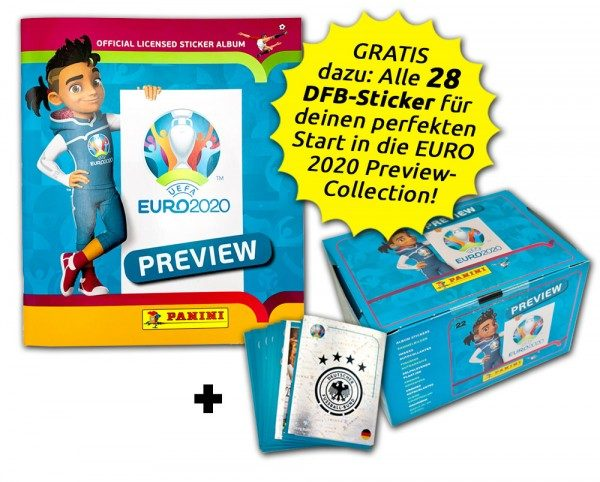 UEFA EURO 2020 - Official Preview Collection - Collector's Bundle - Loyal Customer Edition