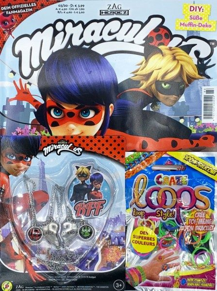 Miraculous Magazin 03/20 Cover mit Extra Packshot