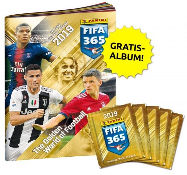 Panini FIFA 365 2019 Stickerkollektion – Mini-Bundle 1