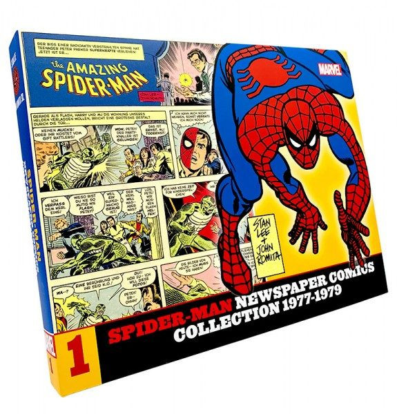 Spider-Man Newspaper Comic Collection 1 Cover