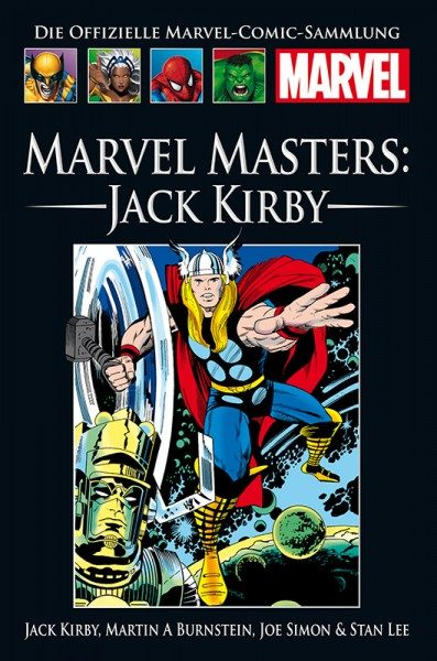 Hachette Marvel Collection 204 - Marvel Masters - Jack Kirby Cover