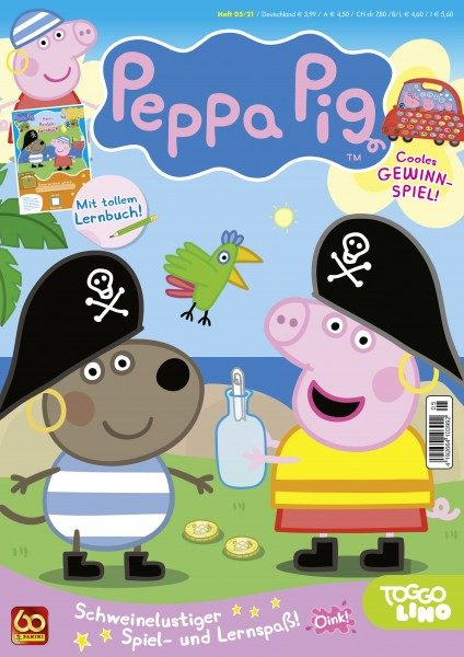 Peppa Pig Magazin 05/21 Cover