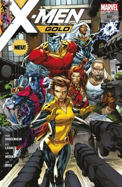 X-Men Gold 2 - In der Falle