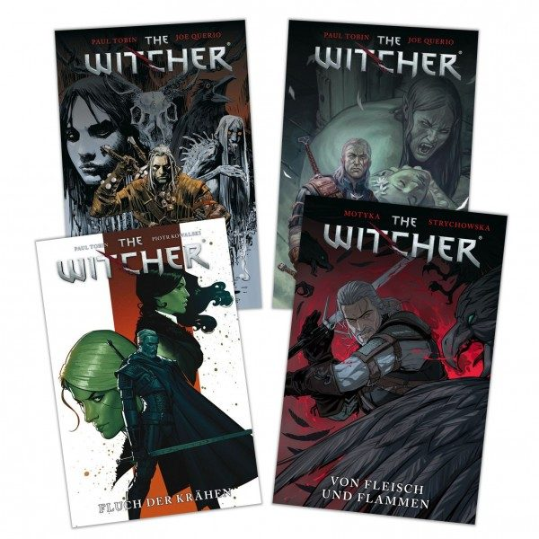 The Witcher - Comic-Bundle alle
