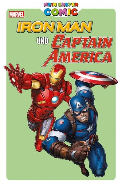 Mein erster Comic - Iron Man und Captain America Cover
