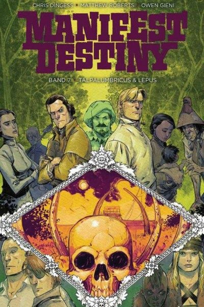 Manifest Destiny 7: Talpalumbricus & Lepus Cover