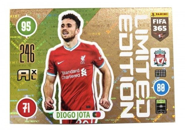 Panini FIFA 365 AXL 2021 Update Collection – LE-Card Diogo Jota
