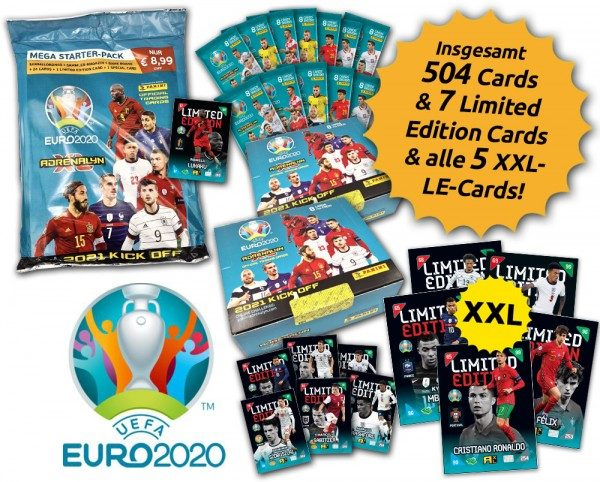 UEFA EURO 2020™ Adrenalyn XL™ 2021 Kick Off – XXL-Bundle