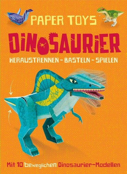 Paper Toys - Dino Bastelbuch Cover
