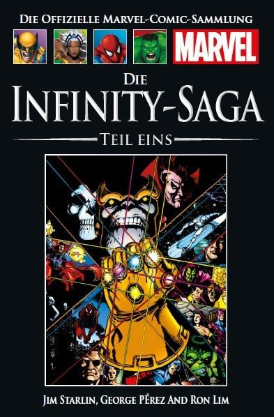 Hachette Marvel Collection 172 - Die Infinity-Saga 1, Teil I Cover