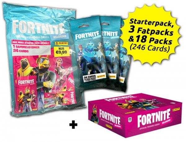 Fortnite Reloaded Trading Cards - Save-the-World-Bundle