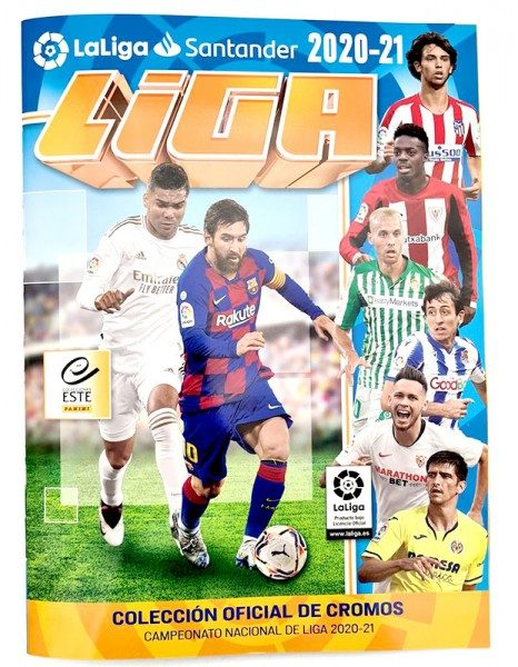 La Liga 2020/2021 Stickerkollektion  - Album