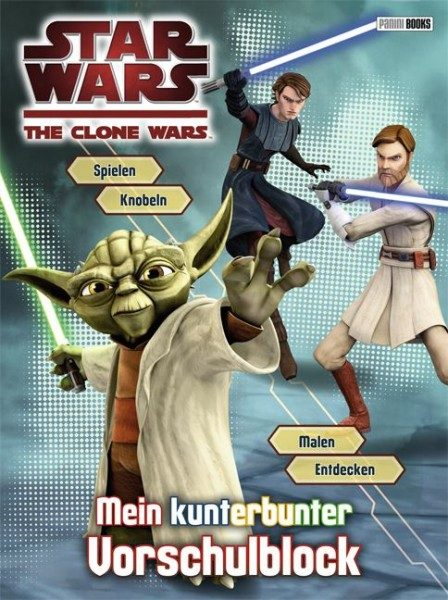 Star Wars - The Clone Wars - Vorschulblock