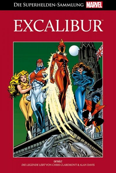 Die Marvel Superhelden Sammlung 76 - Excalibur Cover