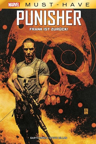 Marvel Must-Have - Punisher - Frank ist zurück! Cover