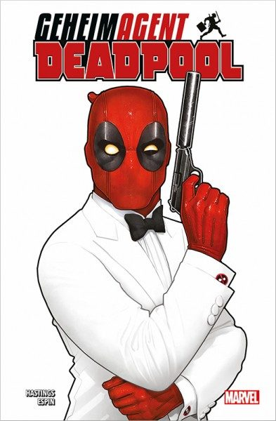 Geheimagent Deadpool Cover