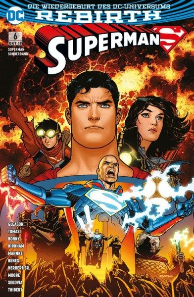 Superman Sonderband 6: Imperius Lex Cover