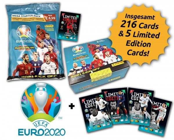 UEFA EURO 2020™ Adrenalyn XL™ 2021 Kick Off – Box-Bundle