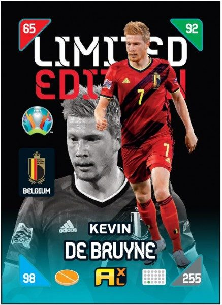UEFA EURO 2020™ Adrenalyn XL™ 2021 Kick Off – LE Card – Kevin De Bruyne (Belgien)