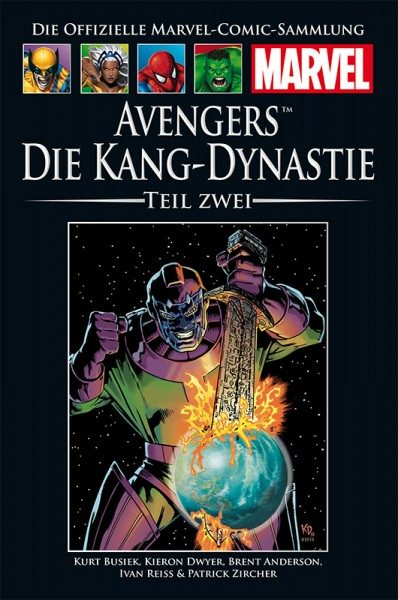 Hachette Marvel Collection 218 - Avengers - Die Kang-Dynastie 2 Cover