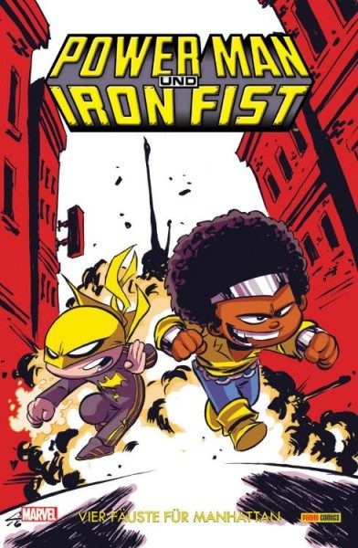 Power Man & Iron Fist 1 - Vier Fäuste für Manhattan Variant