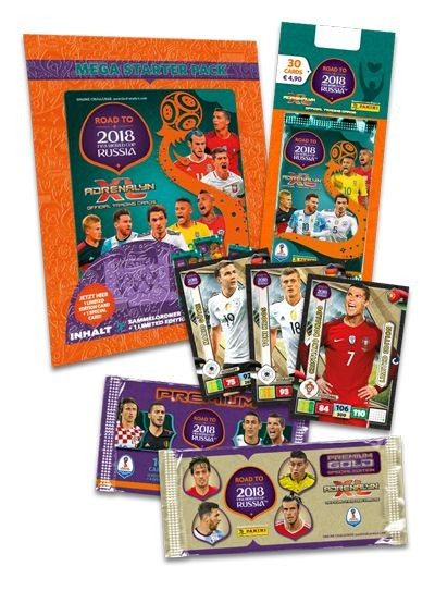 Road To FIFA World Cup Russia 2018 Adrenalyn XL - Bundle 5