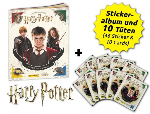 Harry Potter- Sticker und Cards - Schnupperbundle - Inhalt