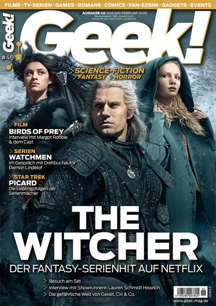 Geek! 46 Cover The Witcher