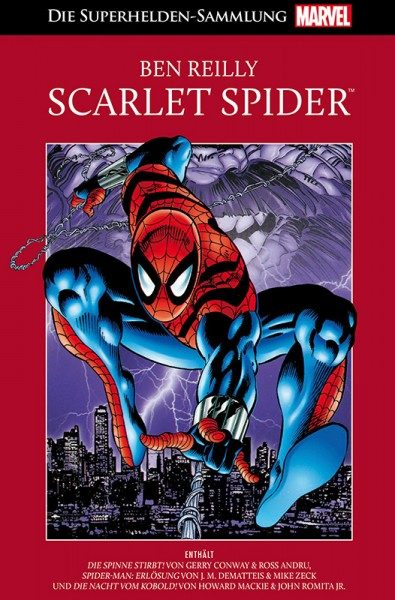 Die Marvel Superhelden Sammlung 80 - Scarlet Spider Cover