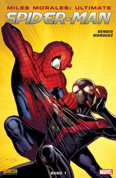 Miles Morales - Ultimate Spider-Man 1 Cover