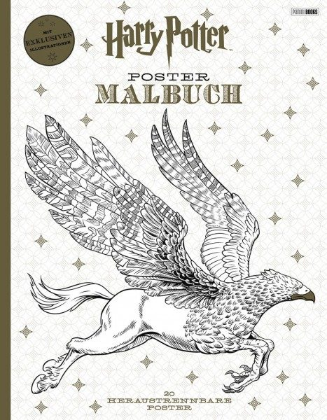 Harry Potter - Postermalbuch Cover