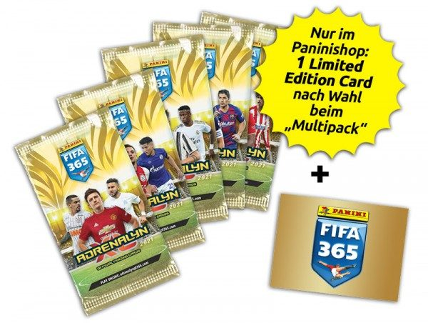 "Panini FIFA 365 Adrenalyn XL 2021 Kollektion - "" Multipack """