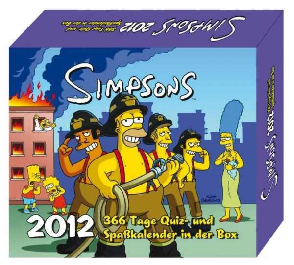Simpsons 366 - Tageskalender (2012)