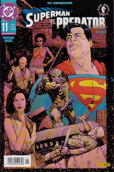 DC Crossover 11 - Superman vs. Predator 3