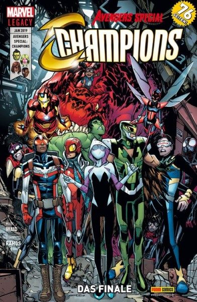 Avengers Special - Champions - Das Finale
