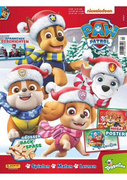 Paw Patrol Magazin 12/20 Cover