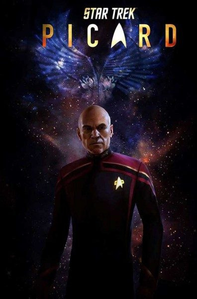 Star Trek Comic 18: Picard Cover