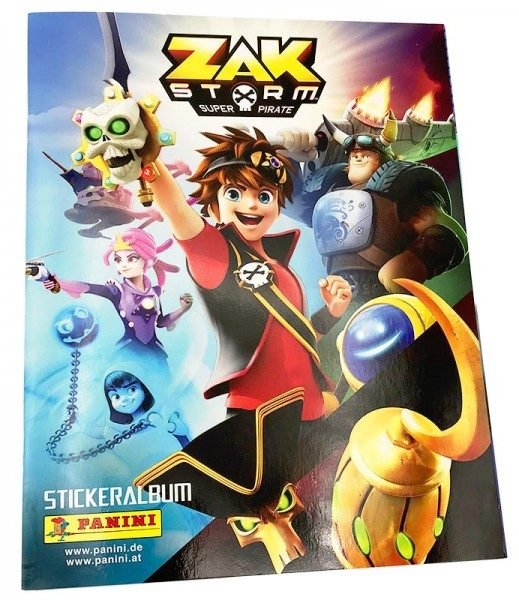 Zak Storm: Super Pirate Stickerkollektion – Album Cover