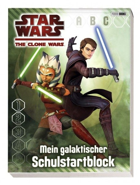 Star Wars - The Clone Wars - Schulstartblock