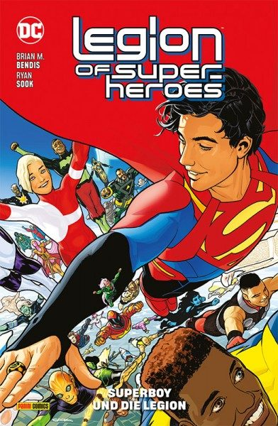 Legion of Super-Heroes 1 Cover