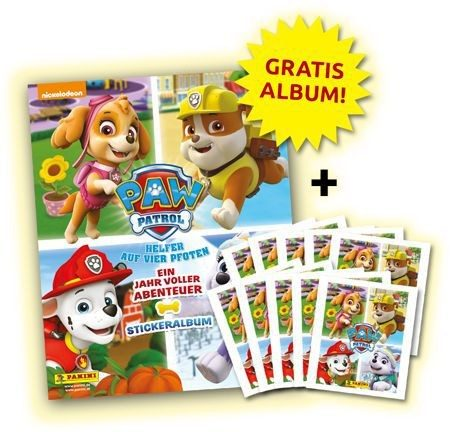 Paw Patrol Stickerkollektion - Bundle 2