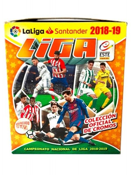 Laliga Santander Stickerkollektion 2018/2019 - Box mit 50 Tüten