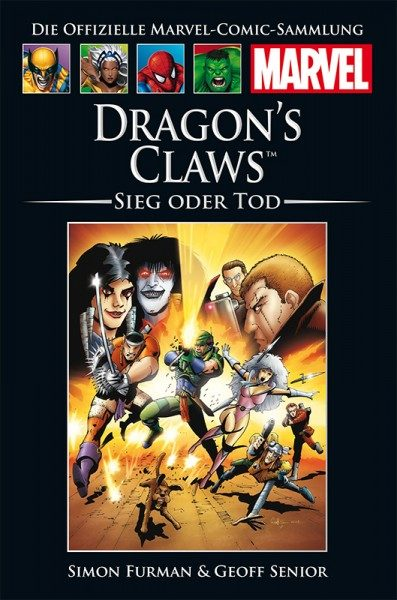 Hachette Marvel Collection 214 - Dragon's Claws - Sieg oder Tod Cover