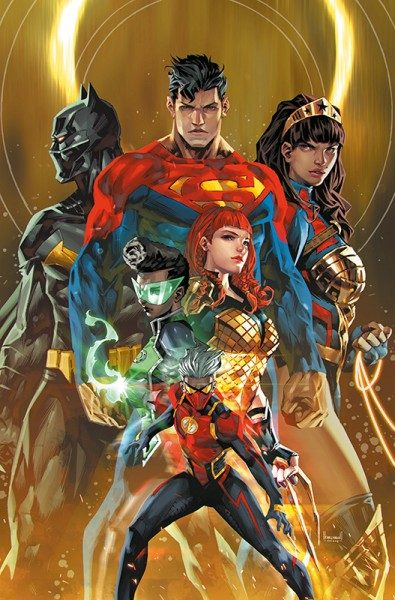 Justice League 33 - Future State Variant Cover
