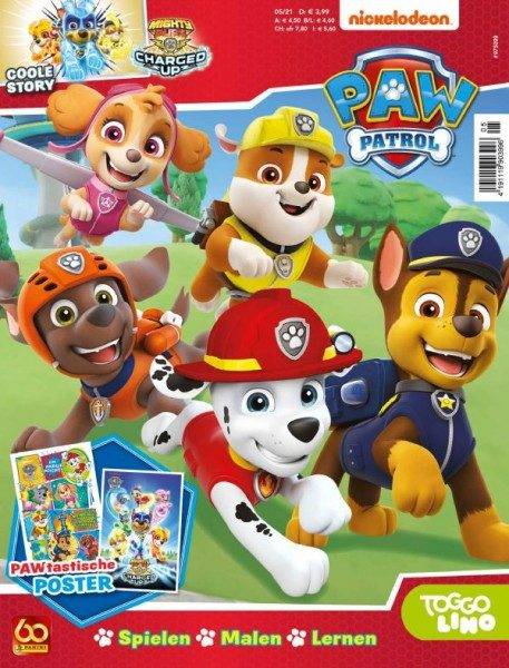Paw Patrol Magazin 05/21 Cover