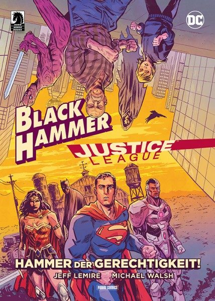 Justice League / Black Hammer Cover